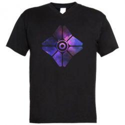 Чоловіча футболка з V-подібним вирізом Destiny Ghost