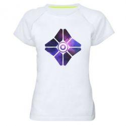 Жіноча спортивна футболка Destiny Ghost
