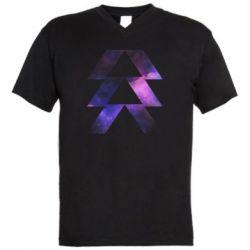 Чоловіча футболка з V-подібним вирізом Destiny Hunter
