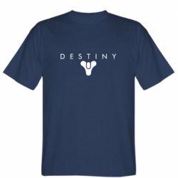 Чоловіча футболка Destiny logo 2 title