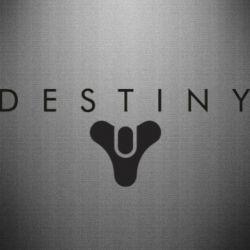 Наклейка Destiny logo 2 title