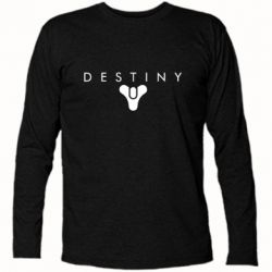 Футболка з довгим рукавом Destiny logo 2 title