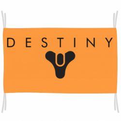 Флаг Destiny logo 2 title