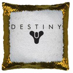 Подушка-хамелеон Destiny logo 2 title