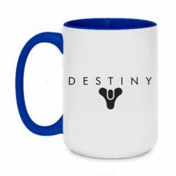 Кружка двоколірна 420ml Destiny logo 2 title