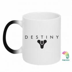 Кружка-хамелеон Destiny logo 2 title