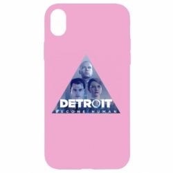 Чохол для iPhone XR Detroit: Become Human