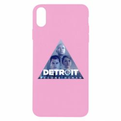 Чохол для iPhone Xs Max Detroit: Become Human