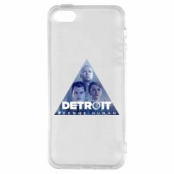 Чохол для iphone 5/5S/SE Detroit: Become Human