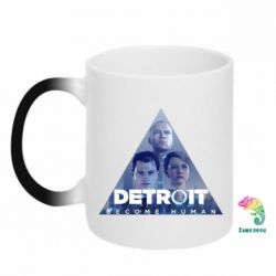 Кружка-хамелеон Detroit: Become Human