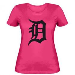 Женская футболка Detroit Eminem - FatLine