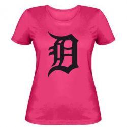 Женская футболка Detroit Eminem