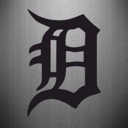 Наклейка Detroit Eminem - FatLine