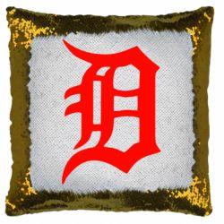Подушка-хамелеон Detroit Eminem