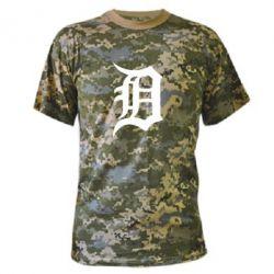 Камуфляжная футболка Detroit Eminem - FatLine