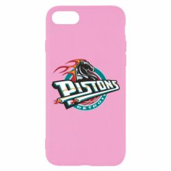 Чехол для iPhone 7 Detroit Pistons Logo - FatLine