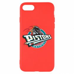 Чехол для iPhone 8 Detroit Pistons Logo - FatLine