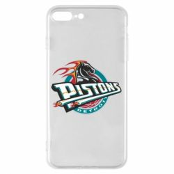 Чехол для iPhone 8 Plus Detroit Pistons Logo - FatLine