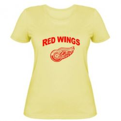 Жіноча футболка Detroit Red Wings
