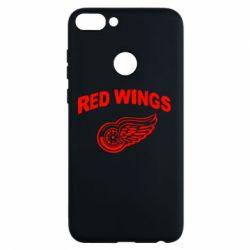 Чехол для Huawei P Smart Detroit Red Wings - FatLine
