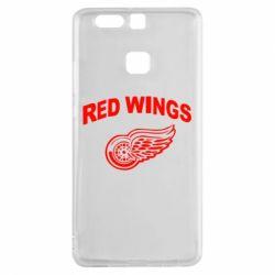 Чехол для Huawei P9 Detroit Red Wings - FatLine