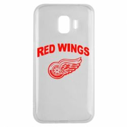 Чохол для Samsung J2 2018 Detroit Red Wings