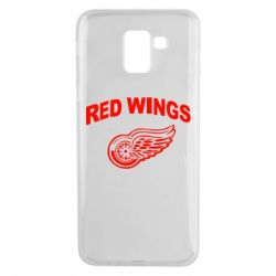 Чохол для Samsung J6 Detroit Red Wings