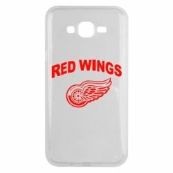 Чохол для Samsung J7 2015 Detroit Red Wings