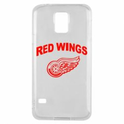 Чохол для Samsung S5 Detroit Red Wings