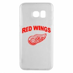 Чохол для Samsung S6 EDGE Detroit Red Wings