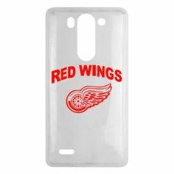 Чехол для LG G3 mini/G3s Detroit Red Wings - FatLine