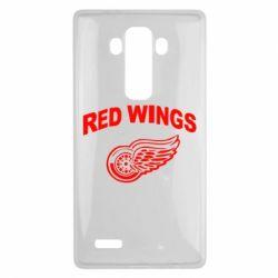 Чехол для LG G4 Detroit Red Wings - FatLine