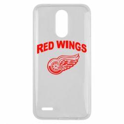 Чехол для LG K10 2017 Detroit Red Wings - FatLine