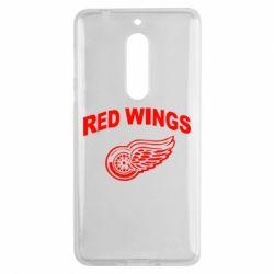 Чехол для Nokia 5 Detroit Red Wings - FatLine