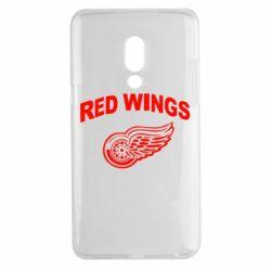 Чехол для Meizu 15 Plus Detroit Red Wings - FatLine