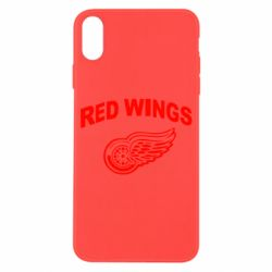 Чохол для iPhone X/Xs Detroit Red Wings