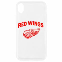 Чохол для iPhone XR Detroit Red Wings