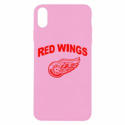 Чохол для iPhone Xs Max Detroit Red Wings
