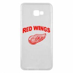 Чехол для Samsung J4 Plus 2018 Detroit Red Wings
