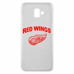 Чохол для Samsung J6 Plus 2018 Detroit Red Wings