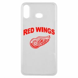 Чохол для Samsung A6s Detroit Red Wings