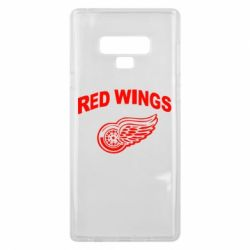 Чохол для Samsung Note 9 Detroit Red Wings