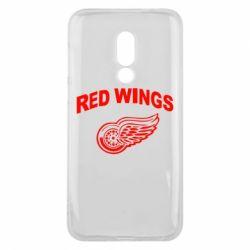 Чехол для Meizu 16 Detroit Red Wings - FatLine