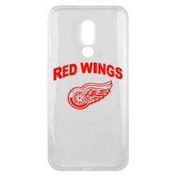 Чехол для Meizu 16x Detroit Red Wings - FatLine