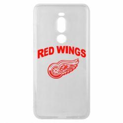 Чехол для Meizu Note 8 Detroit Red Wings - FatLine