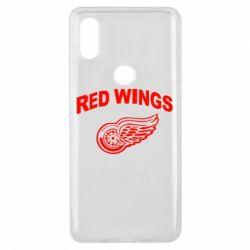 Чехол для Xiaomi Mi Mix 3 Detroit Red Wings - FatLine