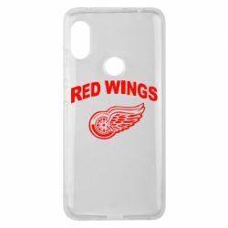 Чехол для Xiaomi Redmi Note 6 Pro Detroit Red Wings - FatLine