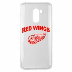Чехол для Xiaomi Pocophone F1 Detroit Red Wings - FatLine