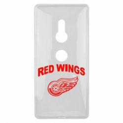 Чехол для Sony Xperia XZ2 Detroit Red Wings - FatLine