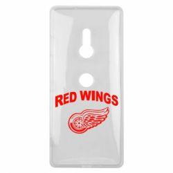 Чехол для Sony Xperia XZ3 Detroit Red Wings - FatLine